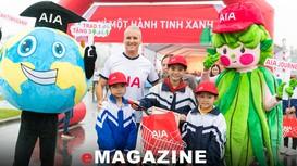 AIA Việt Nam dấu ấn 'Hành trình Cuộc sống' sẻ chia với trẻ em nghèo xứ Nghệ