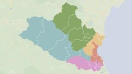 Infographics: Chi tiết 5 đơn vị bầu cử Quốc hội ở Nghệ An