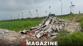 Vấn nạn rác thải xây dựng: 'Bắt cóc bỏ đĩa'