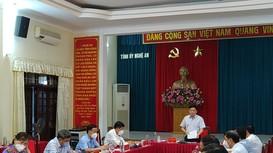 Hội nghị giao ban khối Nội chính tháng 7