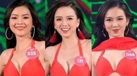 Nhan sắc 11 cô gái cao từ 1,7 m tại chung kết Hoa hậu Việt Nam