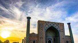 Mê đắm trước kiến trúc Hồi giáo và văn hóa của Uzbekistan