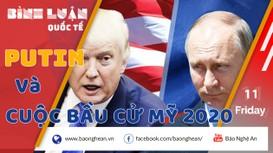 Tổng thống Putin liệu có ủng hộ Trump trong cuộc bầu cử mới?