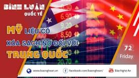 Nợ Trung Quốc 1,1 nghìn tỷ USD, Mỹ liệu có 'chạy nợ' trước 'trùm cho vay'?