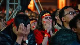 Người hâm mộ nuối tiếc khi U23 để tuột cúp Vàng