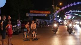 Người dân thành phố Vinh hào hứng chờ đón phố đi bộ