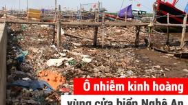 Ô nhiễm kinh hoàng vùng cửa biển Nghệ An