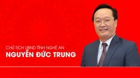 Chân dung tân Chủ tịch UBND tỉnh Nghệ An