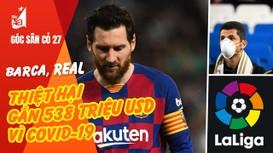 Barca, Real thiệt hại gần 538 triệu USD vì Covid-19