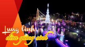 Lung linh đêm Giáng sinh tại các thánh đường đẹp ở Nghệ An