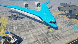 Máy bay hình chữ V, thiết kế cực độc, tiết kiệm nhiên liệu 20%