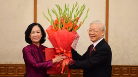 Công bố Trưởng Ban Tổ chức Trung ương và Trưởng ban Dân vận Trung ương mới