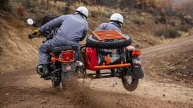 Nhà báo Mỹ 'phát điên' với mô tô 3 bánh mới của Nga
