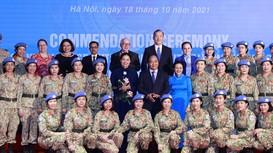 Tuyên dương các tập thể và cá nhân hoàn thành xuất sắc vai trò 'Sứ giả hòa bình'
