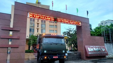 Báo Nghệ An cùng các nhà hảo tâm hỗ trợ người dân vùng dịch Covid-19 xã Chiêu Lưu (Kỳ Sơn)