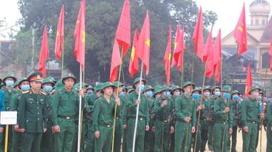 Sáng nay, hơn 3.000 thanh niên Nghệ An lên đường nhập ngũ