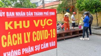 Nghệ An ghi nhận 41 ca nhiễm Covid-19, trong đó có 2 tiểu thương chợ Vinh