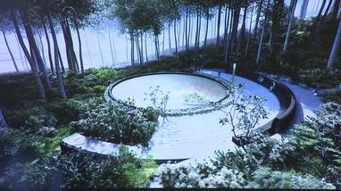 Video: Cận cảnh thiết kế Dự án Thác 9 tầng tại khu mộ bà Hoàng Thị Loan
