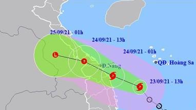 Ảnh hưởng bão số 6, Nghệ An có mưa to đến rất to
