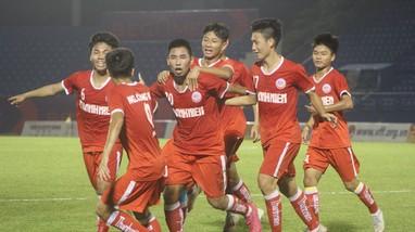 Sông Lam Nghệ An tiếp tục lỡ hẹn với chức vô địch U19 Quốc gia 2021
