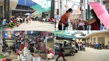 Chợ mới Kim Sơn - Quế Phong đi vào hoạt động