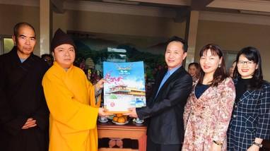 Ban Tôn giáo - Sở Nội vụ chúc tết Nguyên đán các chùa trên địa bàn tỉnh