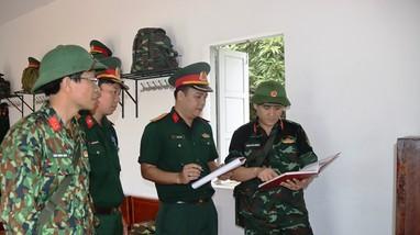 Bộ Chỉ huy quân sự tỉnh kiểm tra công tác sẵn sàng chiến đấu tại đảo Mắt