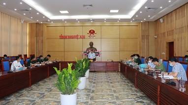 UBND tỉnh rà soát triển khai nhiệm vụ diễn tập khu vực phòng thủ năm 2021