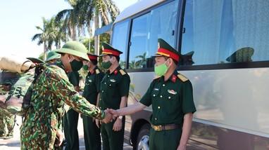 Bộ CHQS tỉnh xuất quân hỗ trợ Diễn Châu