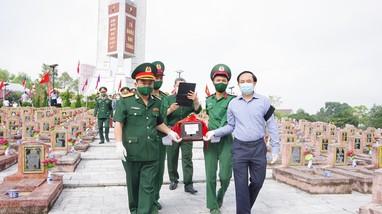 Bộ CHQS tỉnh tổng kết Quy tập hài cốt liệt sỹ mùa khô 2020 – 2021