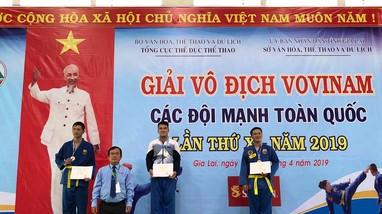 Vận động viên Vovinam 'hái vàng' cho thể thao Nghệ An