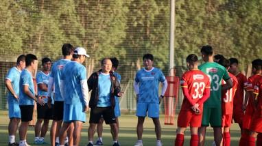 Thầy trò HLV Park Hang-seo sẵn sàng cho mục tiêu tại Vòng loại U23 châu Á 2022
