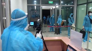 2 người trở về từ Nhật Bản được cách ly y tế ở Nghệ An có mẫu xét nghiệm dương tính với SARS-CoV-2