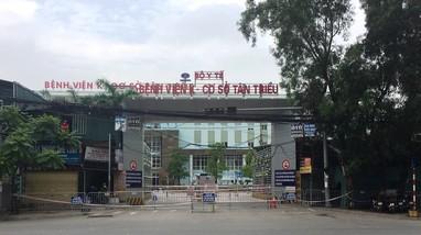 Nghệ An đã truy tìm được 581 người có liên quan đến Bệnh viện K3 Tân Triều