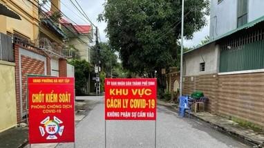 Chiều 22/10, Nghệ An ghi nhận 14 ca nhiễm Covid-19 mới tại 8 địa phương