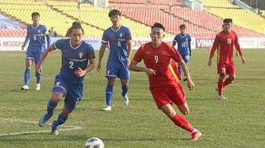 U23 Việt Nam có trận thắng nhọc nhằn trước U23 Đài Loan