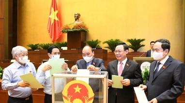 Chủ tịch nước, Thủ tướng và Chánh án TAND tối cao sẽ tuyên thệ nhậm chức hôm nay