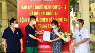 Chiều 26/7, Nghệ An không ghi nhận ca nhiễm mới Covid-19, thêm 5 bệnh nhân khỏi bệnh