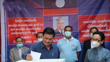 Lào tiến hành bầu cử đại biểu Quốc hội và Hội đồng nhân dân cấp tỉnh, thành phố