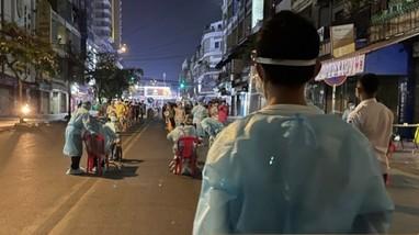 Số ca nhiễm Covid-19 trong một ngày ở Campuchia tăng gần gấp đôi tổng số ca năm 2020