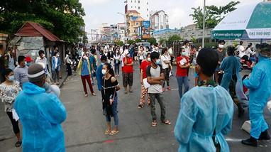 Dịch Covid-19 đang hoành hành ở 220 quốc gia và vùng lãnh thổ; Campuchia có số ca nhiễm kỷ lục