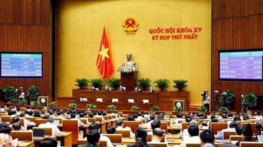 Quốc hội thông qua Nghị quyết về cơ cấu tổ chức Chính phủ nhiệm kỳ 2021- 2026