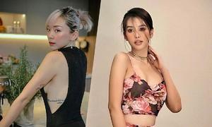 Nhiều nữ sao Việt chọn đồ tôn eo thon