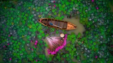 2 bức ảnh chụp ở Việt Nam được bình chọn hình ảnh trên không đẹp nhất năm 2017