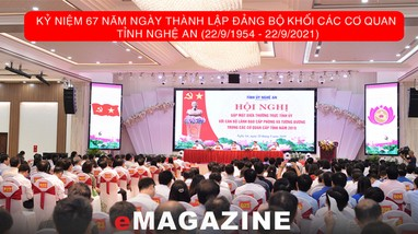 Đảng bộ Khối CCQ tỉnh: Cống hiến, sáng tạo và dám làm, dám chịu trách nhiệm