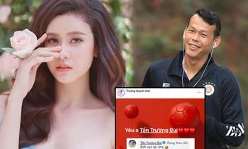 Được Trương Quỳnh Anh 'tỏ tình', thủ môn Bùi Tấn Trường trả lời bất ngờ