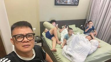 4 con trai nằm kín giường, BTV đông con nhất VTV Quang Minh: 'Mất sạch, chẳng còn gì'