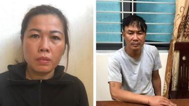 Cặp vợ chồng 'hờ' mua  bán heroin đâm xe vào lực lượng chức năng hòng chạy trốn