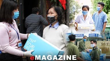 Chung tay cùng Việt Nam chống dịch