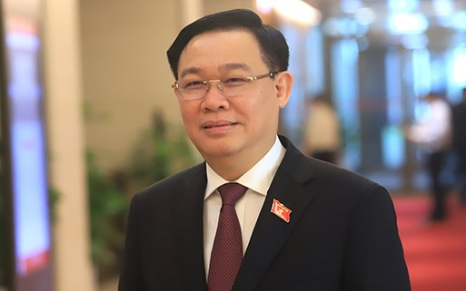[Infographics] Chân dung tân Chủ tịch Quốc hội Vương Đình Huệ